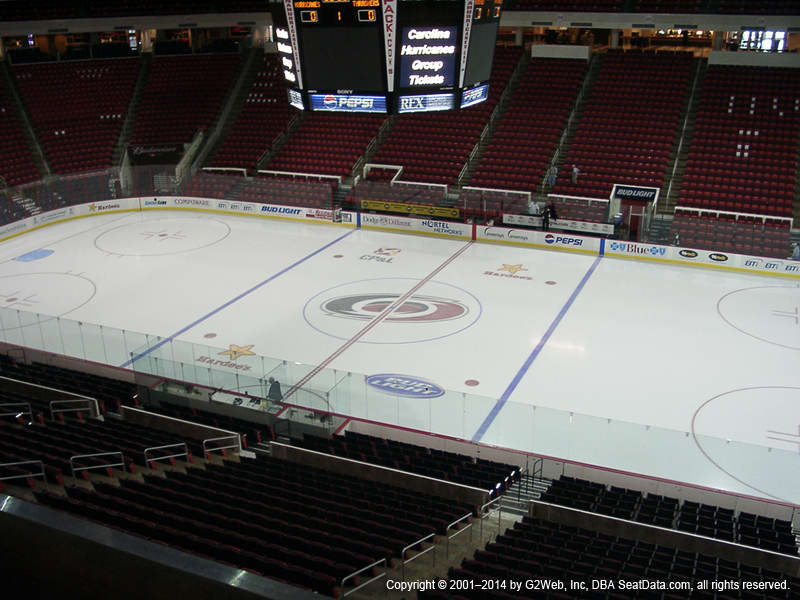 Pnc Arena View From Club Level 218 Vivid Seats