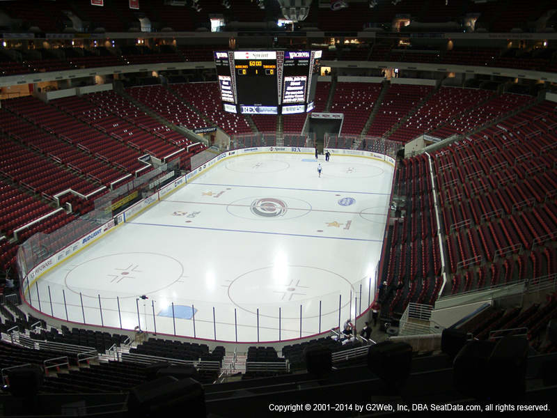 Pnc Arena View From Club Level 226 Vivid Seats