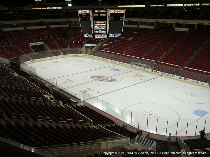 Pnc Arena View From Club Level 230 Vivid Seats